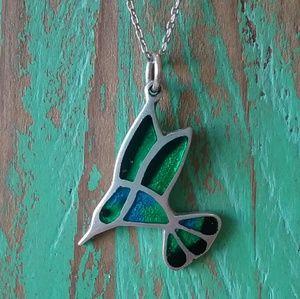 Jewelry - 💖 Sterling Hummingbird Necklace womens jewelry💖
